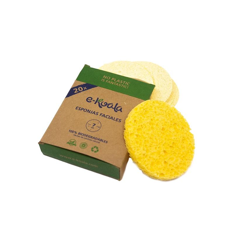 Esponjas de celulosa natural